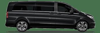 Gatwick Airport Mercedes V Class Chauffeur Cars