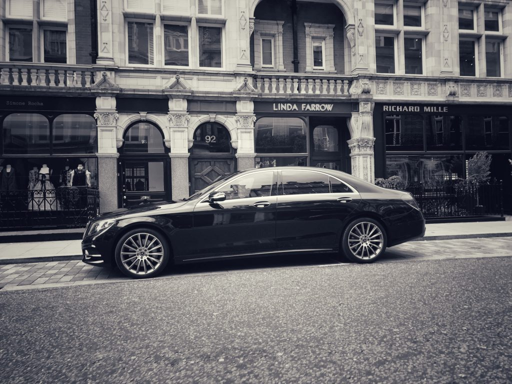 Heathrow Chauffeur Mercedes S Class