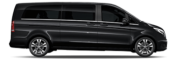 London City Airport Mercedes V Class Chauffeur Cars