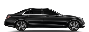 Mercedes S Class Chauffeurs London LCY City Airport